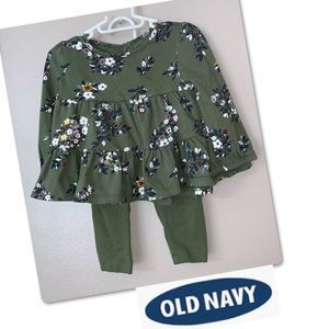 🦋2 for $15🦋 Old Navy baby girl set 12/18M